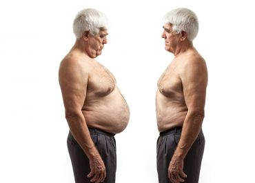 Indice de masa corporal IMC en Adultos Mayores
